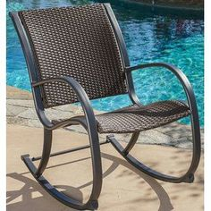 Outdoor Rocking Chairs for your patio! We have plenty of rocking chairs for your porch, balcony, or patio. Rocking chairs are beautiful and wonderful for your home. Wicker Rocking Chair, Outdoor Rocking Chairs, Patio Furniture For Sale, Chairs For Sale, Iron Furniture, Furniture Shopping, Rustic Furniture, Vintage Furniture, Outdoor Furniture