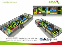 Buy Indoor Trampoline Park Equipment from Direct Manufacturer Indoor Trampoline, Trampoline Park, Trampolines, Park 24, Park Equipment, Parking Design, Indoor Playground, Commercial, China