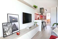 Dröm Living: Especialistas en reformas integrales e Interiorismo en Barcelona Flat Screen, Barcelona, Renovation, Hotels, Restaurants, Salons, Interiors, Flatscreen, Barcelona Spain