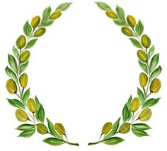 olive branch wreath   Royalty Free Stock Photo  istockphoto.com