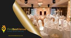 We Reflect your Fantasy with Venues as beautiful as your Imagination. #findbestvenue #BanquetHalls