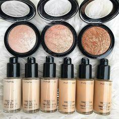 Mac, makeup, foundashion, highlighter,beauty