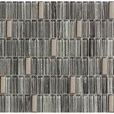 Found it at Wayfair - Oshawa Metal, Glass Mosaic Tile in Silver