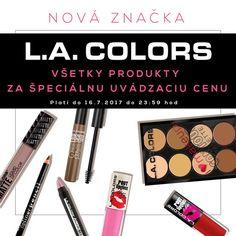<3 NOVINKA <3 Skvelá americká značka L.A.Colors!  Úžasné produkty za úžasné ceny <3 Teraz všetky produkty za špeciálne uvádzacie ceny!
