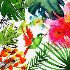 Margaret Berg Art : Illustration : tropical / jungle
