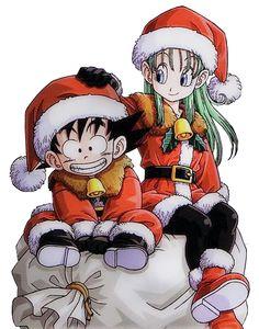 Bulma && Goku Christmas!