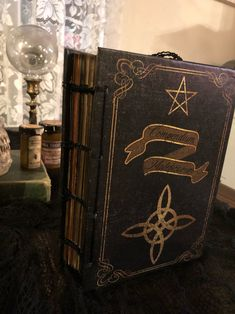 Book of Shadows/Grimoire/Spellbook Printable Junk Journal Kit Years In Roman Numerals, Creepy Halloween Props, Blue Options, Digital Form, Index Cards, Printed Pages, Bingo Cards, Book Of Shadows, Mini Books