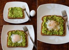 Egg & Avocado Toast makes a quick, simple, and completely delicious breakfast. Egg Recipes For Breakfast, Breakfast Ideas, Brunch, Cant Stop Eating, Healthy Living Recipes, Avocado Recipes, Avocado Toast, Cooking Recipes, Diet Recipes