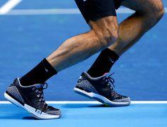 Nike Zoom Vapor AJ3 by Jordan. Black