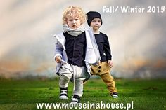 Fall/Winter '14/15  Salt&Pepper Collection by Mouse in A house available on  www.mouseinahouse.eu