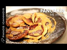 Pancakes Κανέλας με Καραμελωμένα Μήλα   Master Class By Chef Panos Ioannidis - YouTube Breakfast Time, Sausage, French Toast, Brunch, Snacks, Recipes, Cakes, Food, Youtube