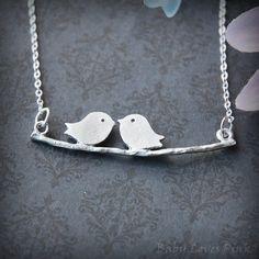 Love Birds <3 #necklace #birds #love