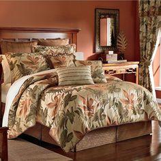 Tropical Bedding Sets