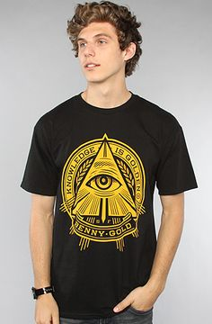 Benny Gold The Pyramid Tee in Black : Karmaloop.com - Global Concrete Culture