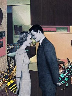 The Public House of Art | Eugenia Loli -Anniversary Gifts Pop Art Digital Collage #artisforthemany