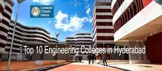 Top 10 Engineering Colleges in Hyderabad, List & Rating - Career Today. Today India, Engineering Colleges, Hyderabad, Career, Education, City, Top, Carrera, Engineering Universities