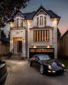 26 Most Popular Modern Dream House Exterior Design Ideas ~ House Design Ideas Dream Home Design, My Dream Home, Dream Homes, Luxury Homes Dream Houses, Dream Mansion, Dream House Exterior, House Exteriors, House Goals, Life Goals