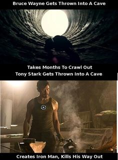 another reason why iron man is better than batman batman iron man fanboy
