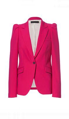Pink for Breast Cancer Month: Zara Blazer