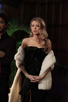 And when she wore a fur stole like it was no biggie. | 24 Times We Wanted To Raid Serena Van Der Woodsen's Closet