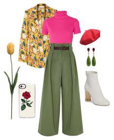 Designer Clothes, Shoes & Bags for Women Tulip, Salvatore Ferragamo, Casetify, River Island, Shoe Bag, Polyvore, Stuff To Buy, Pants, Shopping