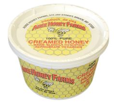 No mess! Creamed honey is pure honey that's been crystallized with a such a small honey crystal that it has a creamy smooth texture. Real Honey, Pure Honey, Creamed Honey, Smooth, Pure Products, Texture, Crystals, Easy, How To Make