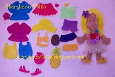 Storybook Felts My Little Island Girl
