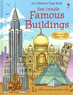 See Inside Famous Buildings  This super cool flap book shows the inside of many famous buildings.  It would be great to share some of these buildings with several different units to help visual students gain a better understanding of buildings during different time periods and of different cultures!