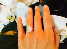Juliane Hough's engagement ring. Gorge.