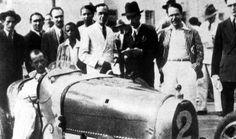 TEMPORADA DE 1933 - Vitório Coppoli, pole-position com  Bugatti - Gavea - Rio de Janeiro - Brasil. Felipe - Álbuns da web do Picasa