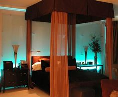 Dormitorio exótico