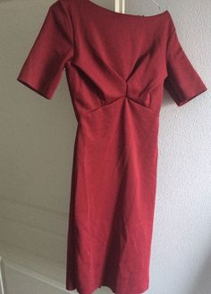 Robe Rouge Bordeaux H&M Taille S