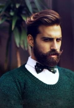 Bow tie & beard