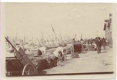 Lisboa : Doca e descarga de bacalhau