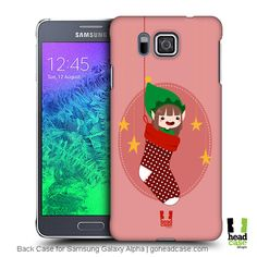Pepper Christmas Elves Design Back Case for Samsung Galaxy Alpha. Click here for your device