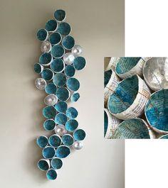 assemblage, book sculptures - Lisa Occhipinti