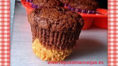 Muffins de calabaza y cacao