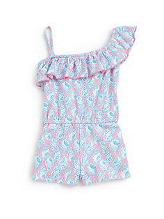 e956a00c1ff Lilly Pulitzer Kids - Toddler s   Little Girl s Mini Mittie Romper