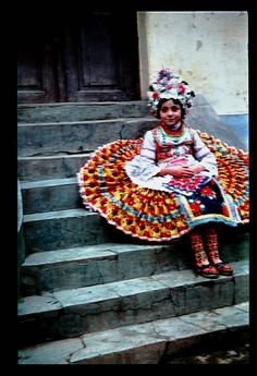 folk costume Hungary Traditional Fashion, Traditional Dresses, Folklore, Folk Costume, Costumes, Hungarian Embroidery, Bridal Cape, Beauty Around The World, We Are The World