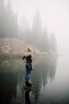 roselynjolie: sommerlanding: Bloods Lake by Kyle...
