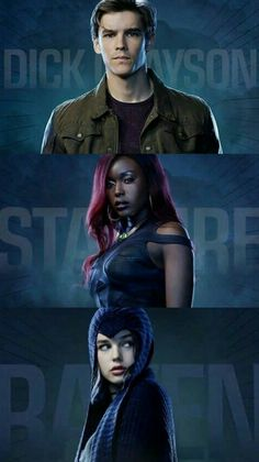 Titans Tv Series, Dc Doctor, Dc Comics, Action Tv Shows, The New Teen Titans, Dc World, Hawkgirl, Robin, Comic Movies