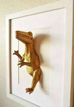 6 Proyectos caseros para una decoración de Dinosaurios
