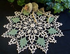 Ravelry: Green Leaf Doily pattern by American Thread Company