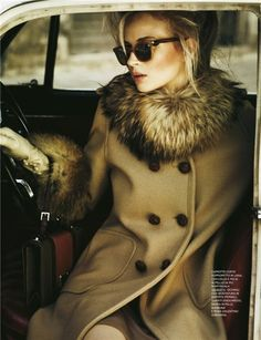 Fox fur is a weakness of mine. This woman looks amazing!