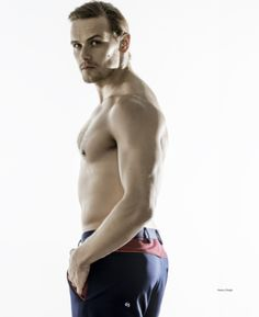 This New Sam Heughan Photo Shoot Will Make You Go Weak At The Knees