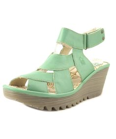 FLY LONDON | Fly London Yesh   Open Toe Leather  Wedge Sandal #Shoes #Pumps & High Heels #FLY LONDON