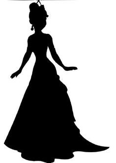 disney princess silhouette | Disney princess tiana