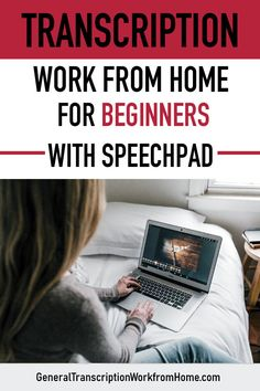 Transcription Work from Home for Beginners with Speechpad - Review - Work from Home Jobs, Online Jobs & Side Hustles Earn Money From Home, Make Money Online, How To Make Money, Captioning Jobs, Transcription Jobs For Beginners, Work From Home Jobs, Online Jobs, Get Started, Hustle