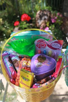 How to put together cheap easter baskets easter easterbaskets how to put together cheap easter baskets easter easterbaskets top mom bloggers on pinterest pinterest easter baskets easter and easter party negle Images