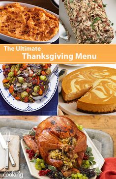 Enjoy Thanksgiving with your loved ones and our great Thanksgiving recipes, from savoury sides to delicious stuffing recipes to sweet desserts. Thanksgiving Vegetables, Thanksgiving Menu, Fall Recipes, Holiday Recipes, Dinner Recipes, Holiday Foods, Christmas Desserts, Roasted Vegetable Medley, Bacon